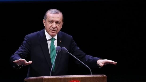 Erdoğan: Akdeniz'e uzanan koridora izin veremeyiz