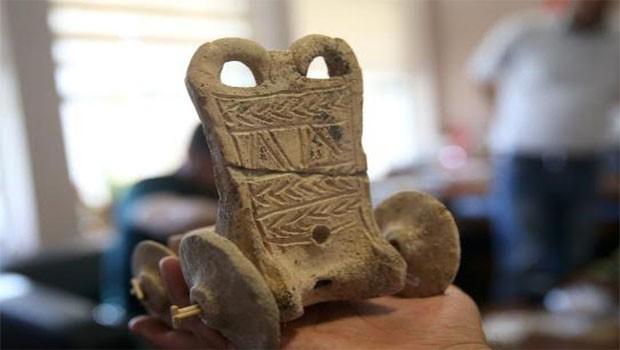 Kürt ilinde bulundu... 5000 Yıllık Oyuncak!