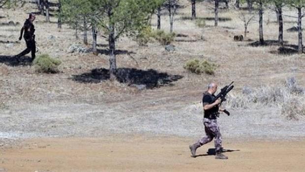 Muğla'da PKK'li olduğu iddia edilen kişi kendini patlattı