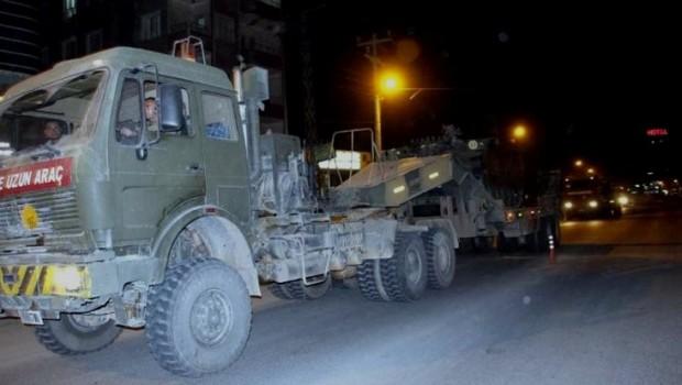 Silopi sınırına zırhlı araç sevkıyatı