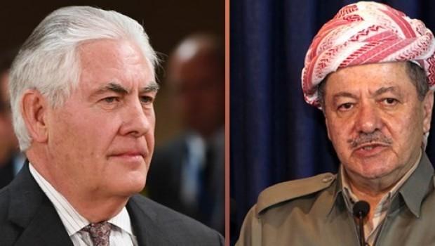 Washington Post: Tillerson, Barzani'ye mektup göndermedi