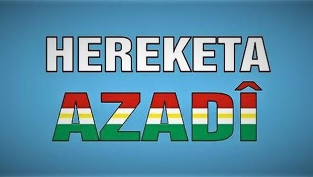 Azadi Hareketi'nden Türkiye'ye Kürdistan çağrısı!
