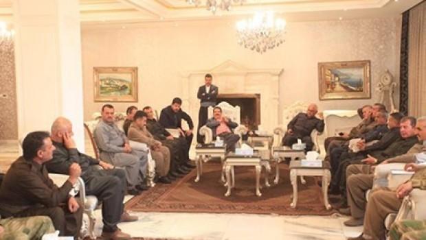 Kosret Resul'den komutanlara: Barzani dışında kimseden emir almayın