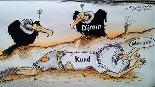 Kürt Leş Kargaları bu kadar çokken Kürtlere Bağımsızlık dar gelir!