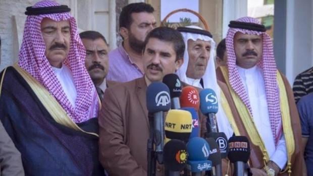 Sünni Arap kabileleri İranlı milislerle savaşmak için Peşmerge'ye katıldı