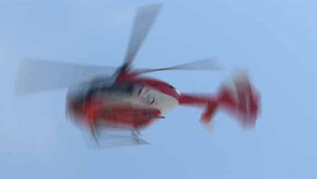 Suudi Arabistan'da içinde bir prens ve üst düzey yetkililerin olduğu helikopter düştü