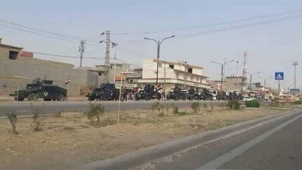 Haşdi Şabi Kerkük'te Kürt mahallelerine yöneldi