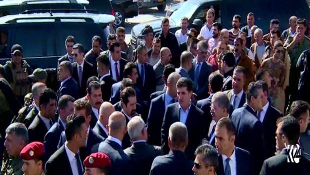 Başbakan Neçirvan Barzani ile Kubad Talabani Derbendîxan 'da