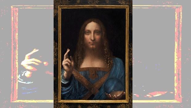 Da Vinci'nin İsa Peygamber tablosu 'tüm zamanların' rekor fiyatına satıldı