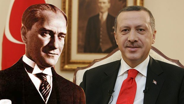 Nato Tatbikatında Atatürk ve Erdoğan düşman hedef olarak gösterildi