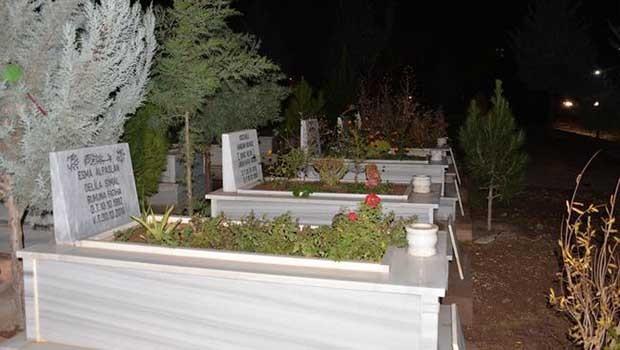 Diyarbakır'da PKK'lilerin mezar taşları değiştirildi