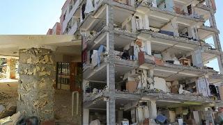 Kürdistan Depremi, Ahmedi Nejad ve Mezar Evleri