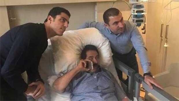 Kosret Resul'un hastaneden ilk fotoğrafları