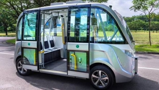 Singapur'da sürücüsüz otobüs 2022'de yollarda
