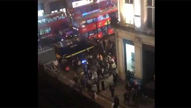 Londra'da büyük panik