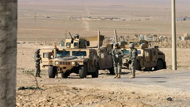 ABD askerleri 40 zırhlı aracla Kerkük'e ulaştı