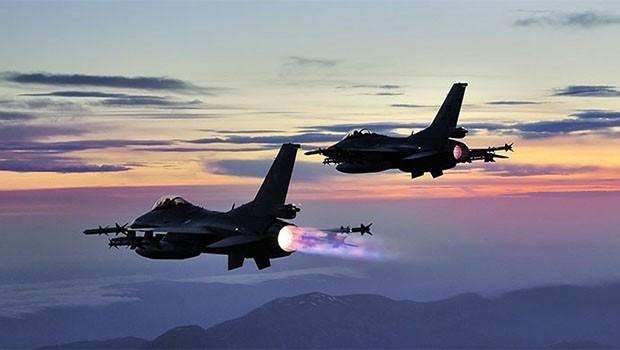 TSK'dan Asos Dağı'na bombardıman