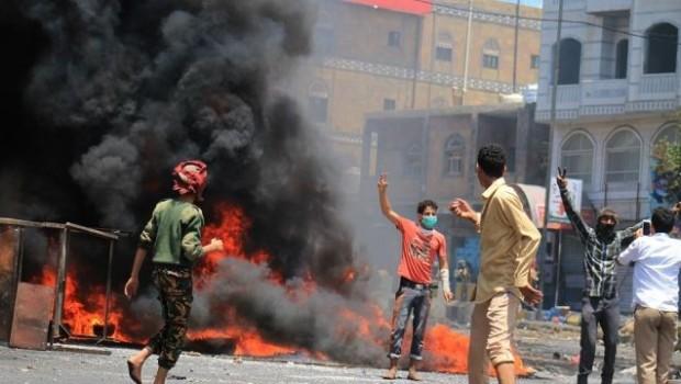 İran Büyükelçiliği yakıldı!