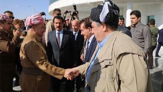 Başkan Barzani'den Komutanlarla 'Ortak Ordu' görüşmesi