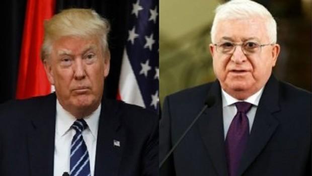 Irak Cumhurbaşkanı Masum'dan Trump'a Kudüs uyarısı