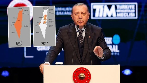 Erdoğan: İsrail işgal devletidir