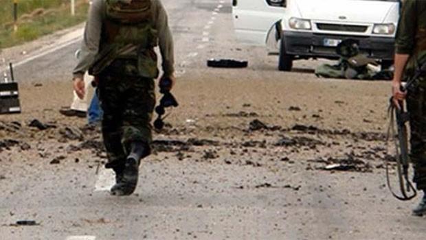 Şırnak'ta patlama. 1 Asker yaşamını yitirdi!