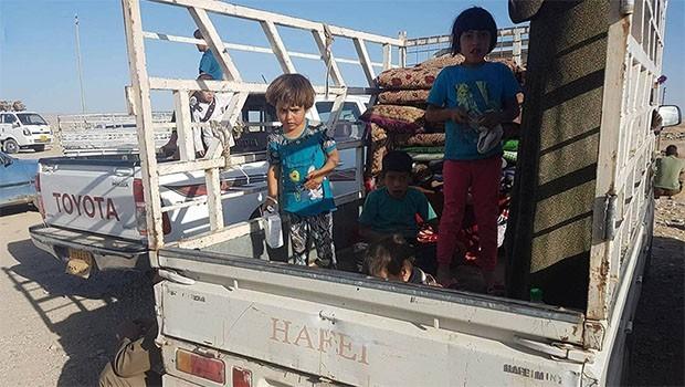 Haşdi Şabi, Xurmatu'da halkı göçe zorluyor