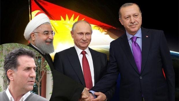 Rojhat Amedi: Rusya, İran ve Türkiye'nin Kürdistan siyaseti ve Kürtler...