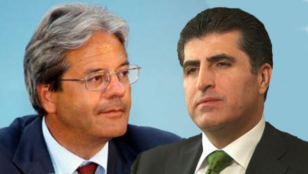 Başbakan Barzani'ye İtalya'dan mektup