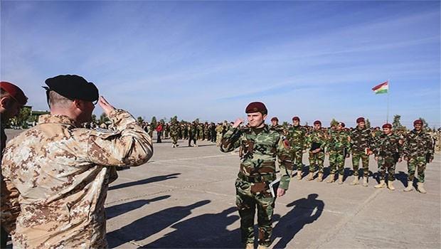 Koalisyon eğitti... 500 Zerevani peşmergesi göreve hazır!