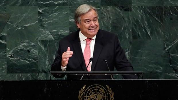Guterres'ten yeni yıl mesajı: Sorunlar birlikte aşılır