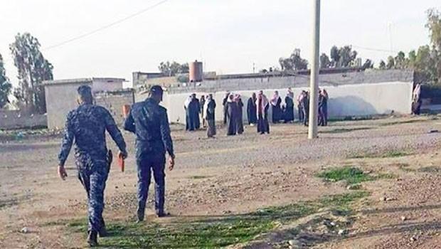 Araplar Kerkük'te Kürt köyünü işgal etti