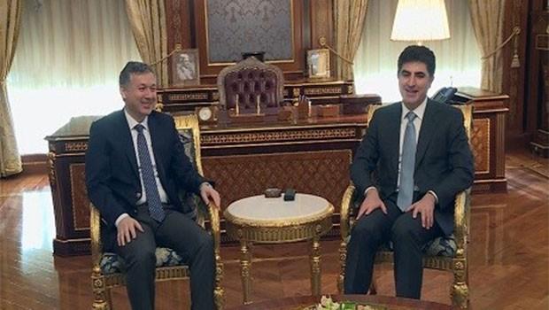 Başbakan Barzani, Türkiye'nin Erbil başkonsolosunu kabul etti