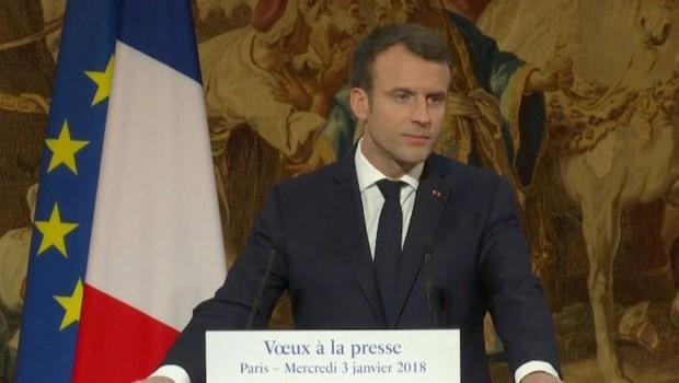 Macron: Türkiye, Avrupa değerlerine dönmeli