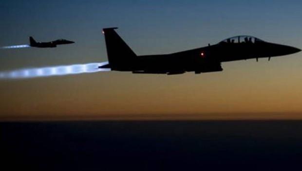 Koalisyon Güçleri Havadan IŞİD'i Vurdu