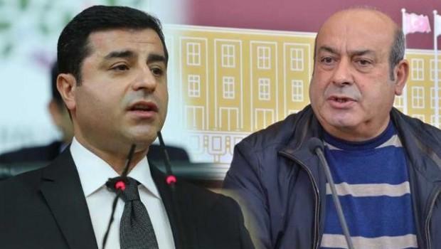 Hasip Kaplan, Demirtaş ile görüştü