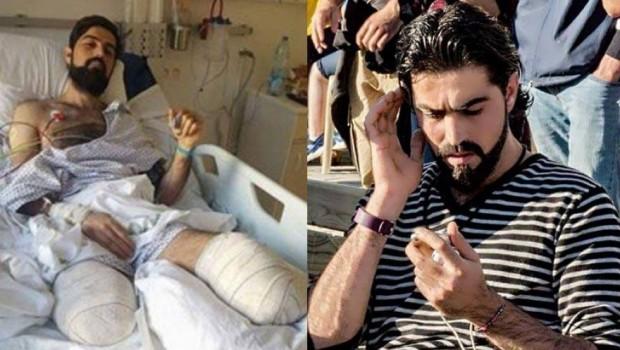 Kürt genci, hayat kurtarırken trenin altında kaldı