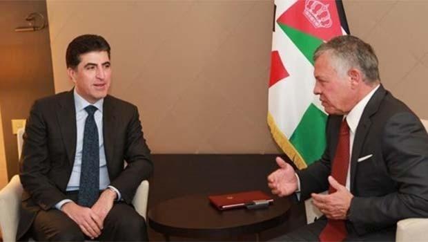 Başbakan Barzani Ürdün Kralı ile görüştü