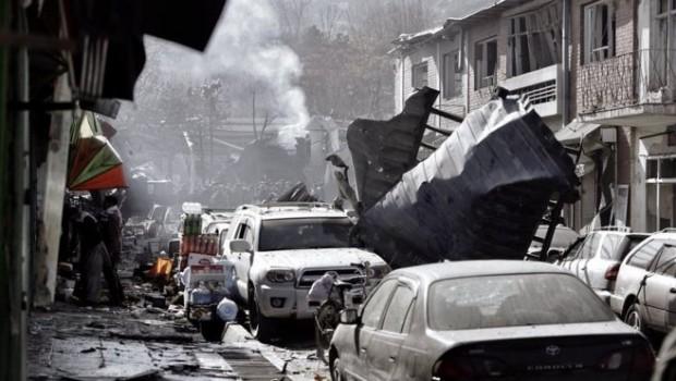 Kabil'de büyük patlama!  En az 95 ölü...