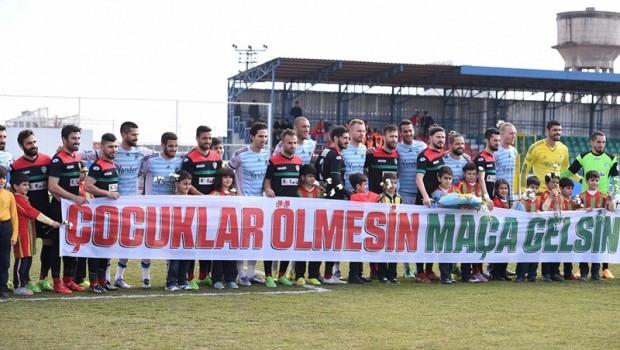 AmedSpor'dan protesto: Maça çıkmadılar