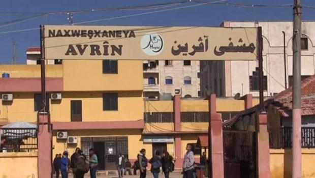 Afrin merkeze 2 roket isabet etti: 12 yaralı