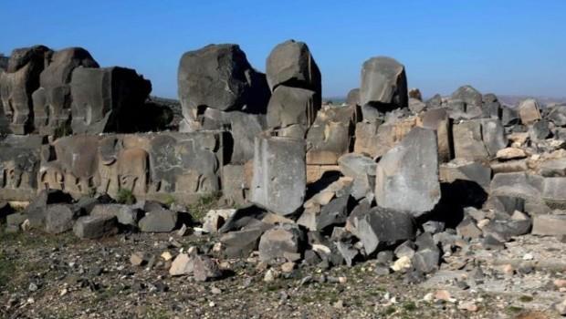 AFP: 3 bin yıllık tapınak Türkiye'nin bombardımanında ağır hasar gördü