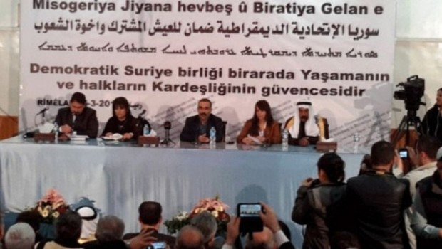 Rojava'dan Soçi kongresine ilişkin açıklama