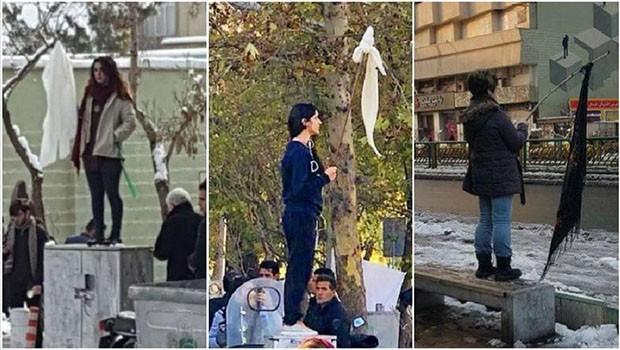 İranlı kadınların başörtüsü eylemi yayılıyor