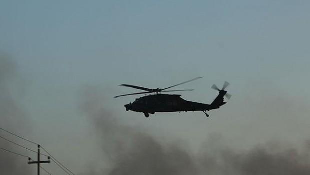 Erdoğan: Az önce bir helikopterimiz düşürüldü