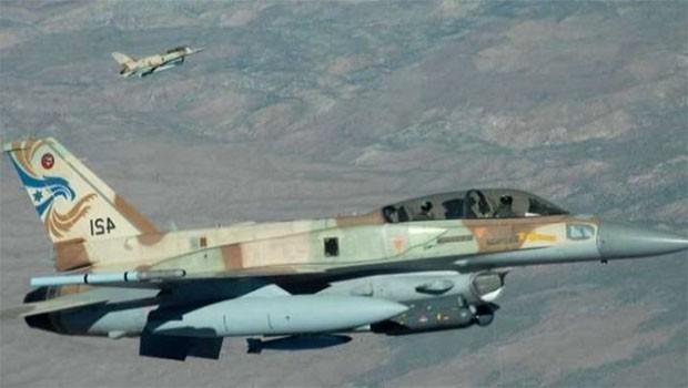 İsrail Şam'ı bombalıyor