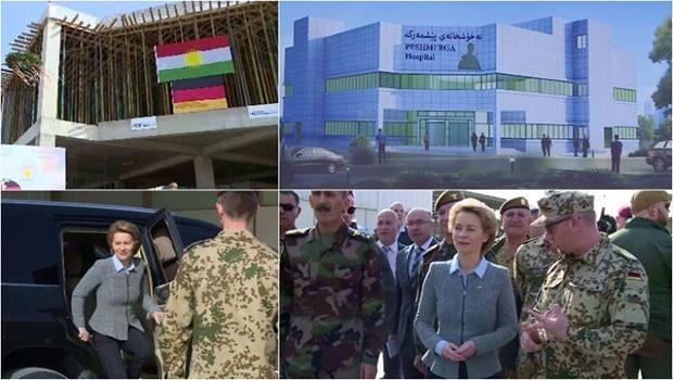 Almanya Savunma Bakanı Kürdistan'da