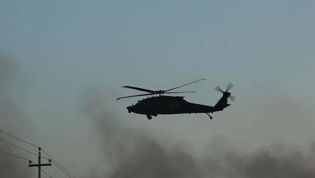 Suriye Gözlemevi'nden Türkiye Helikopteri iddiası