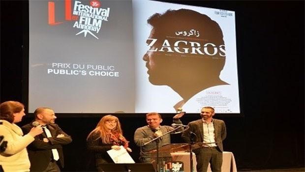 Kürt filmi Zagros'a Fransa'dan büyük ödül