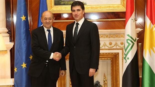 Paris'ten Erbil'e üst düzey ziyaret